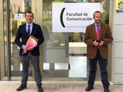 UCLM | José María Herranz, nuevo decano de la Facultad de Comunicación