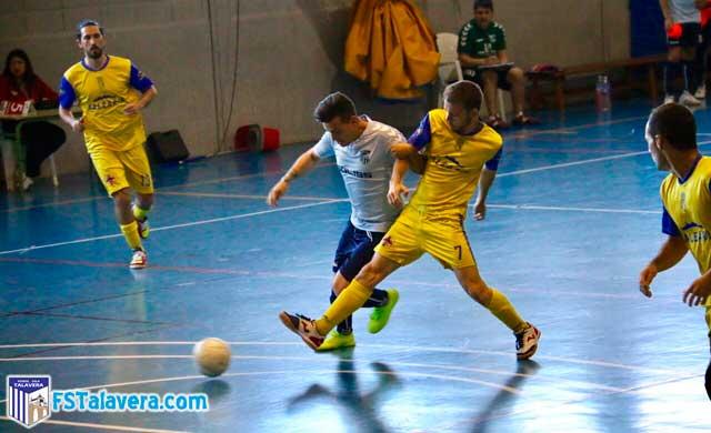 El Soliss FS Talavera arriesgó para ganar y perdió ante CD Denia
