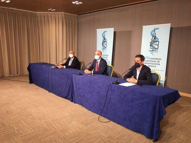 Clausura del VII Congreso de Deontología Médica que ha acogido el Colegio de Médicos de Toledo