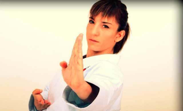 La karateca talaverana Sandra Sánchez se prepara para los World Games 2017