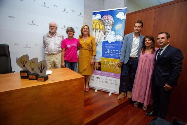 Toledo albergará el XXXVI Campeonato de España de Globos Aerostáticos