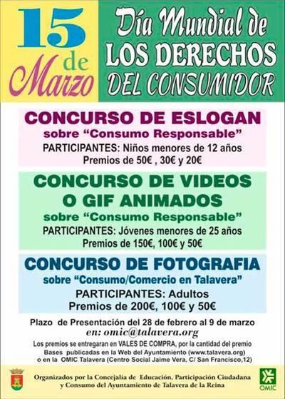 María González anima a participar en los concursos de 'Consumo responsable'