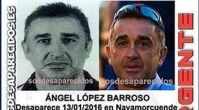La Guardia Civil confirma que los restos óseos aparecidos en Navamorcuende son del desaparecido en 2016