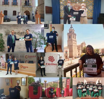 ACTUALIDAD | Talavera participa activamente en la Carrera Virtual Solidaria Fundación Eurocaja Rural