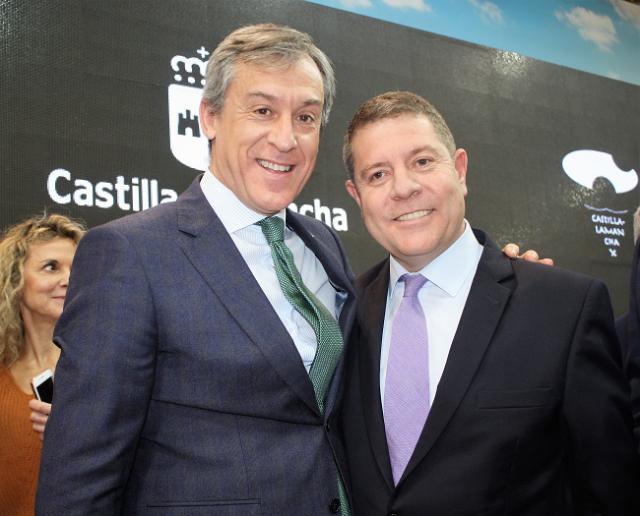 El presidente de Eurocaja Rural visita FITUR