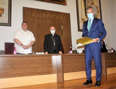 CLM   Eurocaja Rural, distinguida como 'Empresa con corazón' por Cáritas Toledo