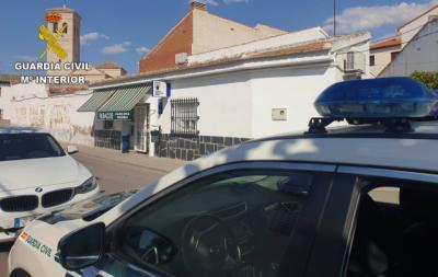 Detenido el atracador del estanco de un pueblo de Toledo