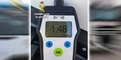 Detenido un camionero en Alovera (Guadalajara) por superar en más de 9 veces el límite de alcoholemia