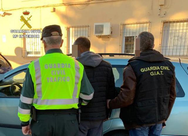 Detenido un vecino de Socovos que se dio a la fuga tras atropellar al conductor de un ciclomotor en Moratalla