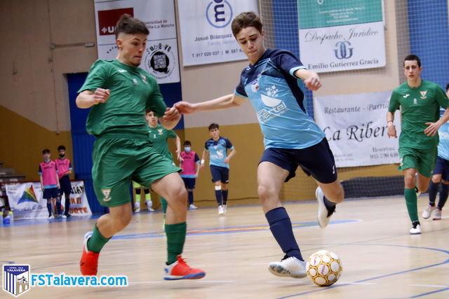 DIVISIÓN DE HONOR | El Rusevilla FS Talavera finaliza con un empate su encuentro con el CD Spínola
