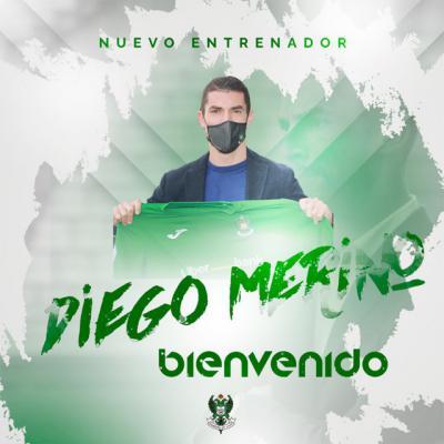 FÚTBOL   El emeritense Diego Merino, nuevo entrenador del CD Toledo