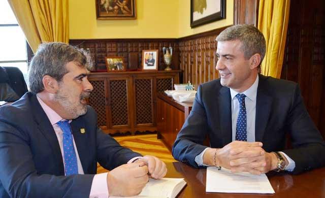 Diputación y Mensajeros de la Paz estudian nuevas colaboraciones