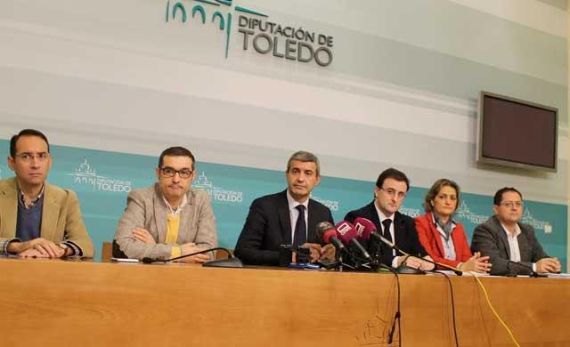 El presupuesto de la Diputación de Toledo para 2017 asciende a 125,6 millones de euros