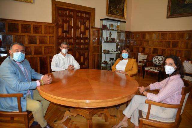 TALAVERA Y COMARCA | Reunión entre Diputación y Ayuntamiento por el parque supramunicipal de bomberos