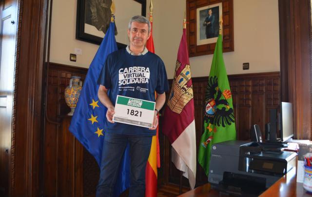 TOLEDO | La Diputación apoya la Carrera Virtual Solidaria de la Fundación EuroCaja Rural