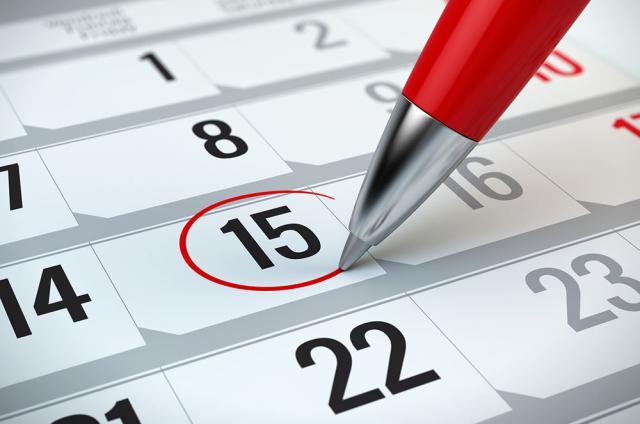Todos los festivos del calendario laboral de 2019 en CLM