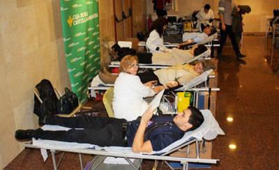 Caja Rural CLM acoge en Toledo el 9º Maratón de Donación de Sangre