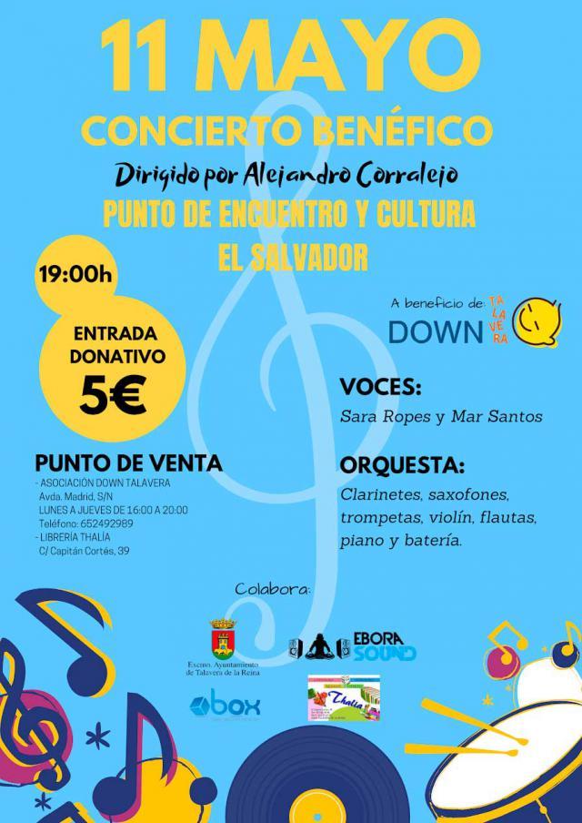 Concierto benéfico a favor de la Asociación Down Talavera