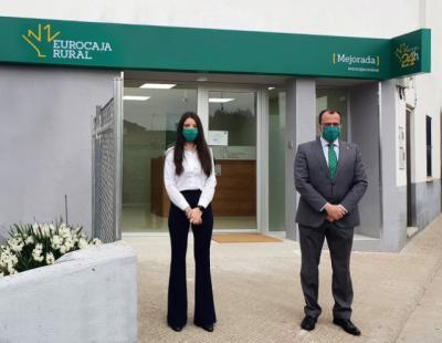 MEJORADA | Eurocaja Rural inaugura un nueva oficina