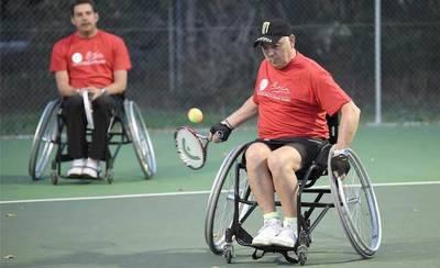Parapléjicos inicia la temporada estival de tenis en silla de ruedas