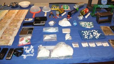 Desarticulado un grupo criminal que distribuía cocaína desde un taller de Talavera a Segurilla, Pepino...