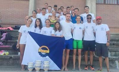 El CN Aqüis, de Talavera, logra el subcampeonato regional de verano