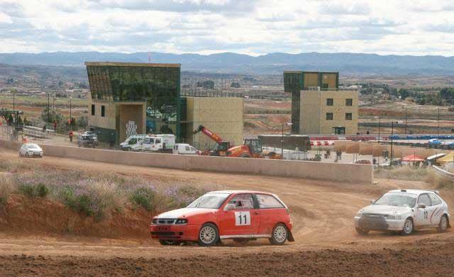 Impresionante inicio de los pilotos talaveranos en el Autocross en MotorLand
