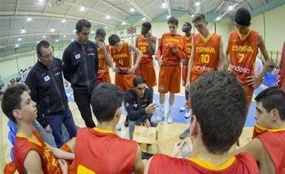 El talaverano Juan José Santana estará en el Europeo U16M de baloncesto