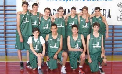 Los cadetes de Ademar, campeones provinciales de baloncesto