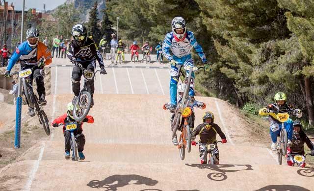 Magníficos resultados del Club BMX Talavera en la Copa de España