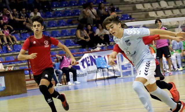 La cantera del Soliss FS concursará en la Móstoles International Futsal Cup