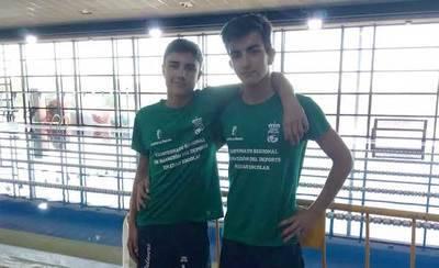 Dos nadadores del CN Talavera logran 7 medallas en el Campeonato regional