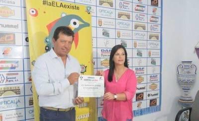 El CF Talavera y la Asociación Adelante unidos contra el ELA