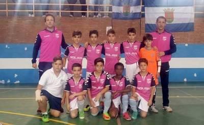 El Alevín FS Talavera se queda a un gol de jugar la Fase Final del Nacional
