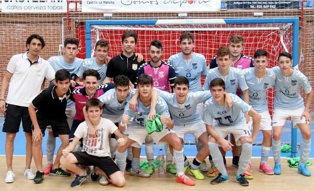 El FS Talavera Piscimat logra el subcampeonato regional juvenil