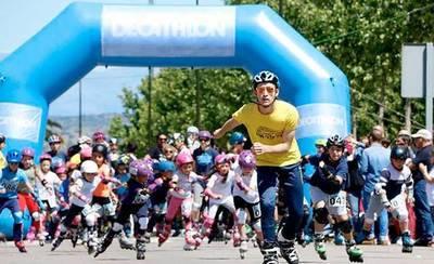 Talavera patina por una buena causa en la I Media Maratón