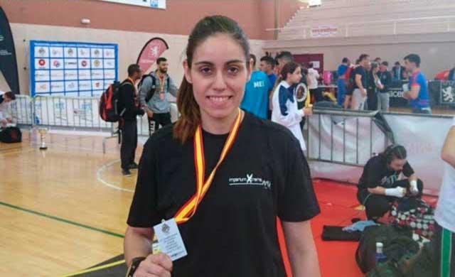 Montaña Palacios, plata en el Campeonato de España de Grappling