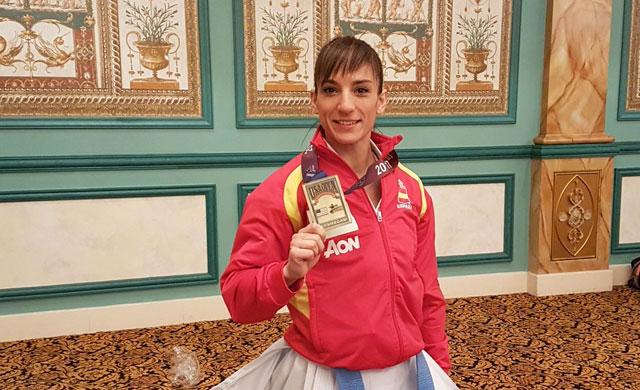 La talaverana Sandra Sánchez logra el oro en el USA Open de Karate