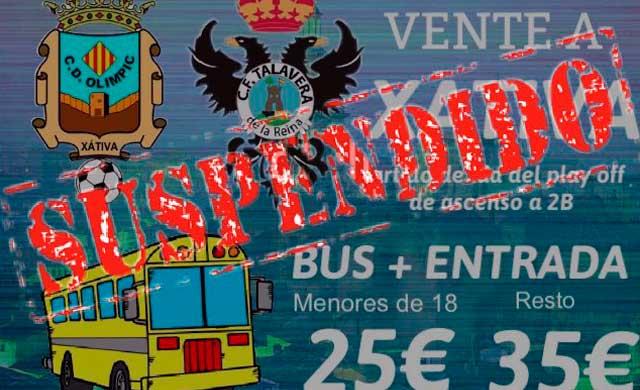Se suspende el viaje para apoyar al CF Talavera por falta de 'aficionados'