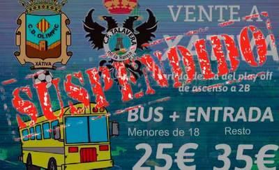 Se suspende el viaje para apoyar al CF Talavera por falta de