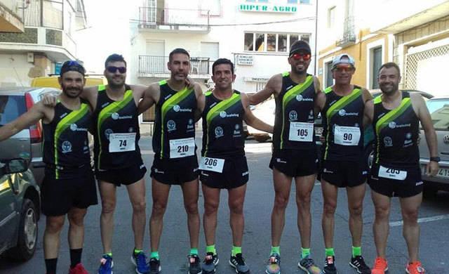 Destacada representación del Talavera Training en la Carrera Popular de Arenas de San Pedro