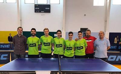 El CD Torrijos Spin Tenis de Mesa consigue el ascenso a 2ª División Nacional