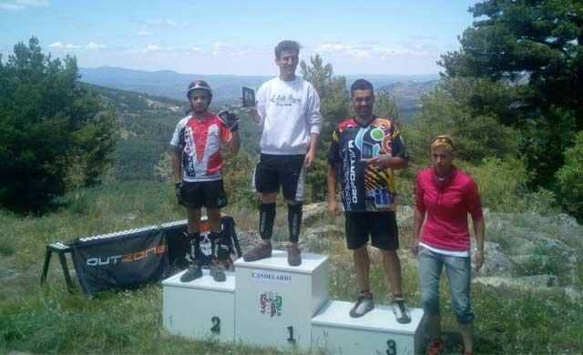 Gustavo Almendro, tercero en el Campeonato de CyL de trial bici