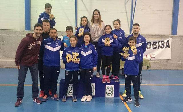 El bádminton de Velada logra 4 oros en el Campeonato de CLM