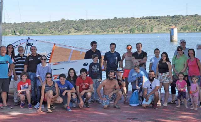 """Presentado el proyecto de windsurf """"Castilla-La Mancha a toda vela"""""""