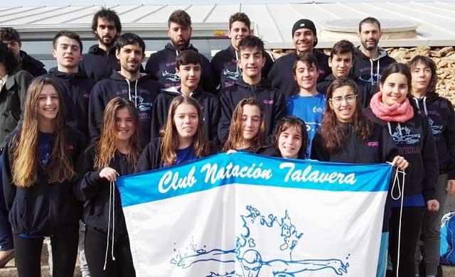 Éxito del CN Talavera con 6 podiums en la III Jornada de la Liga Territorial