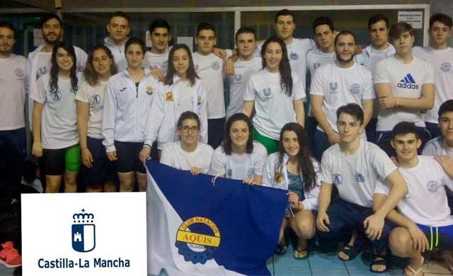 El CN Aqüis se crece ante las adversidades en el Campeonato Regional