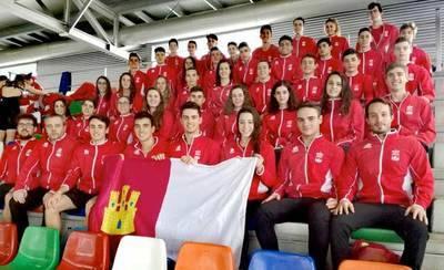 La selección de CLM brilla en el Campeonato de España de Natación