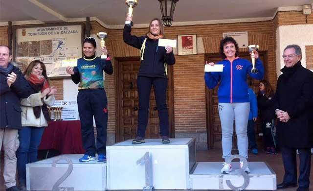 María José Curiel 3º Clasificada en la Carrera de Torrejón de la Calzada