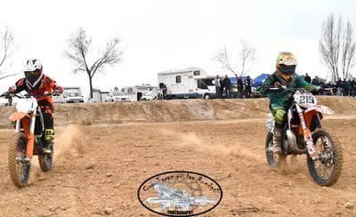 Inauguración del Circuito Tajoa Racing con el Motoclub MX Reina